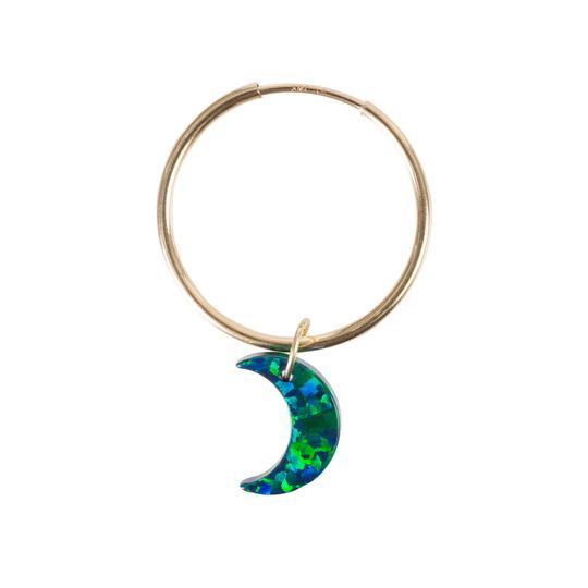 The Opal Void Earring