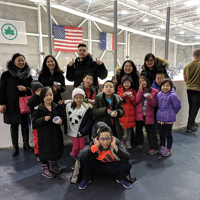 Ice skating fun with #enkrateiacellgroup