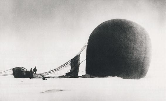 [Fig.1] NILS STRINDBERG Salomon August Andrée Polar Expedition, July 14th 1897 Courtesy Gränna Museum, Sweden