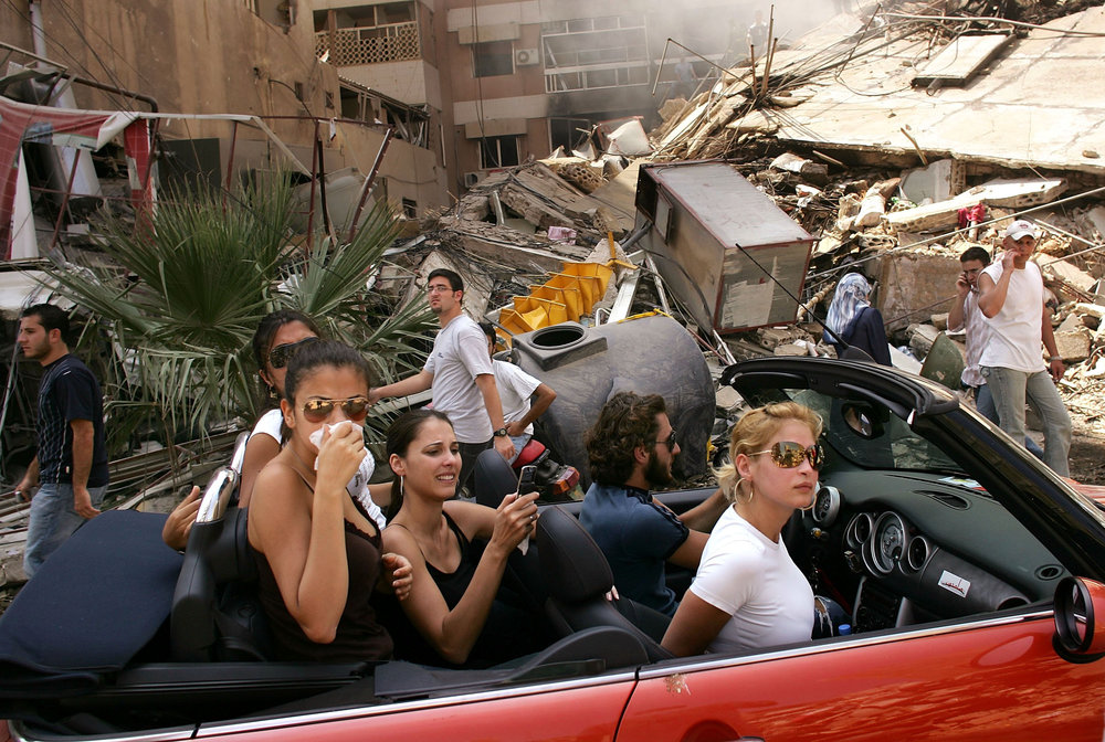 [Fig.1] Spencer Platt (1970-) Beirut 2006 2007 World Press Photo award