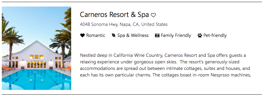 Get relaxed in California Wine Country at Carneros Resort & Spa, Napa