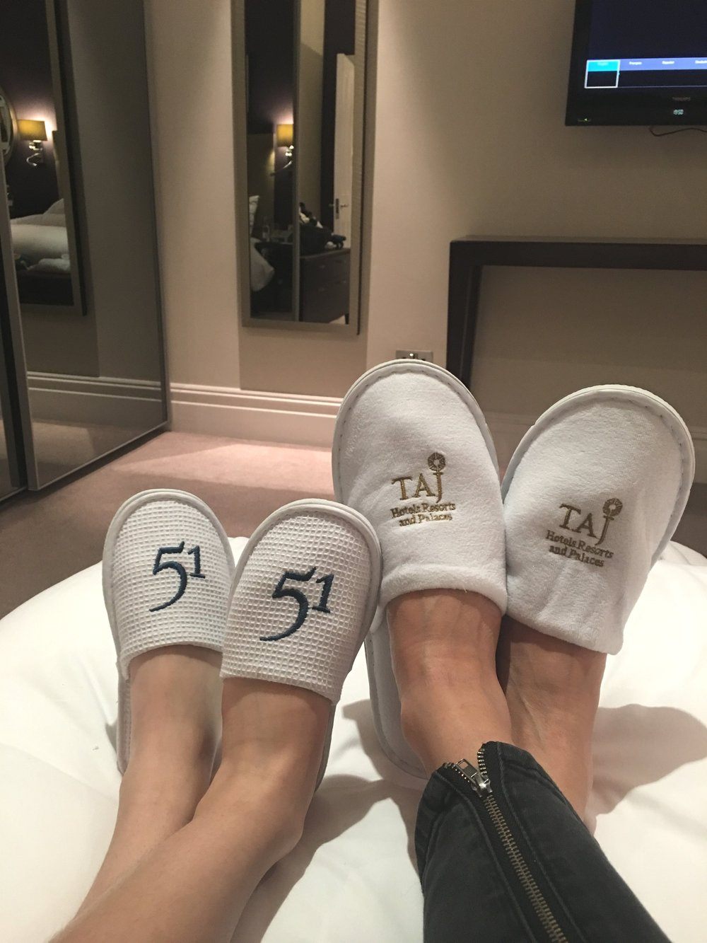 Hers and Mine Slippers