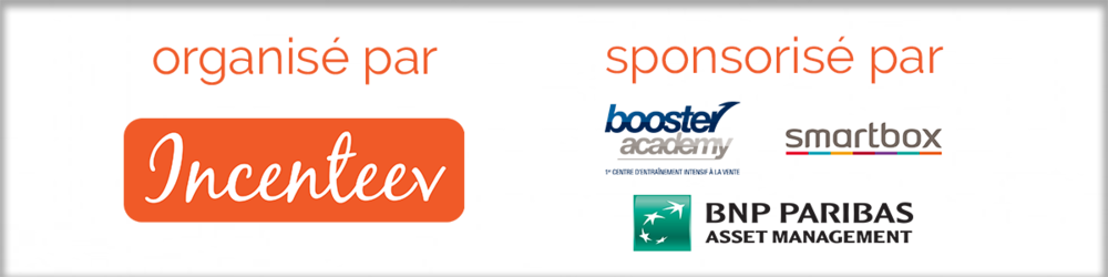 Incenteev + Booster Academy + Smartbox présentent Sales Leader France 2018