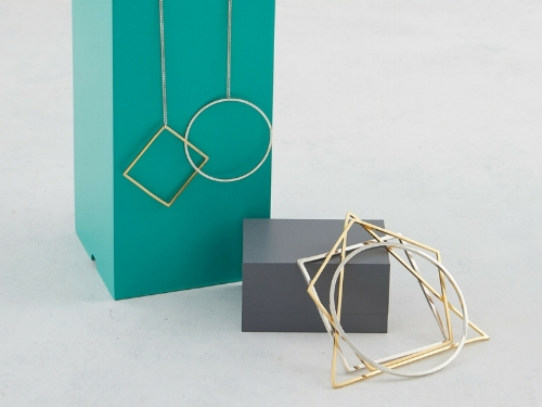 Jenny Parker - JEWELLERY. GEOMETRY. LIGHTINGLondon, UKwww.jennyparker.co.uk // jenny@jennyparker.co.ukInstagram | TwitterAfter graduating from the Central Saint Martins College of Art & Design, Jenny founded her London based jewellery and product design studio providing consultancy and creating a line of pieces that reflect her fascination with golden section, dance geometry and engineering.