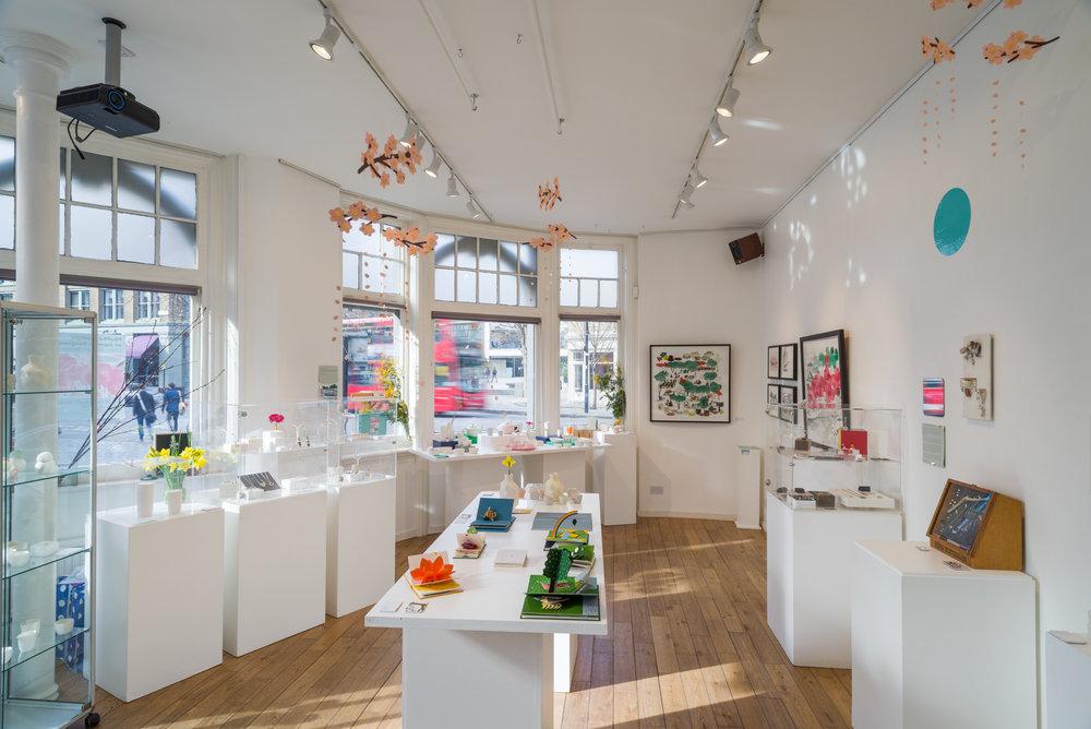 PikaPika: Cherry Blossom Season. Selling exhibition spotlighting Japanese Designers.