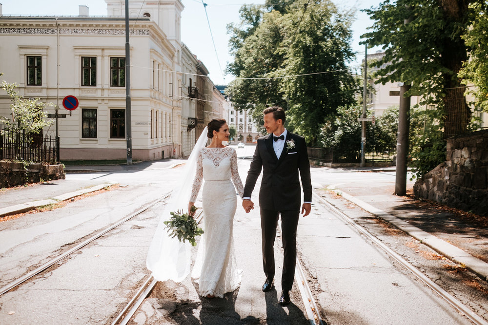 fotograf i bryllup