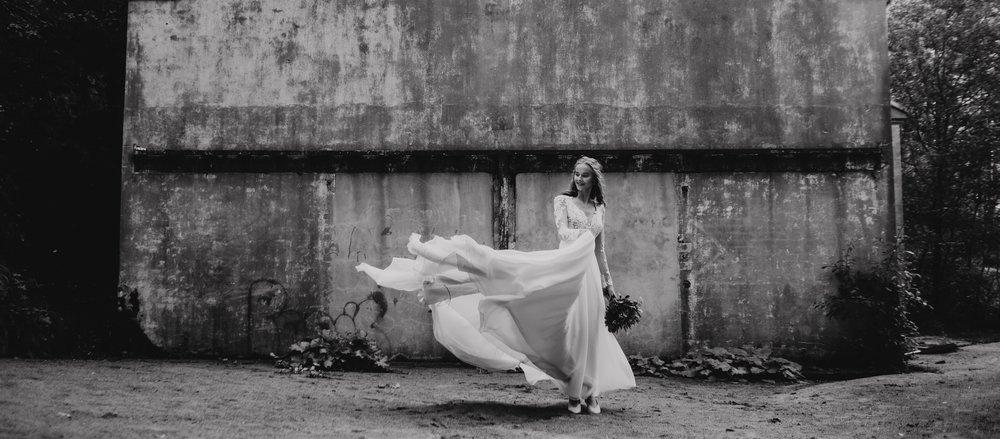 bryllupsfotograf brud oslo norge