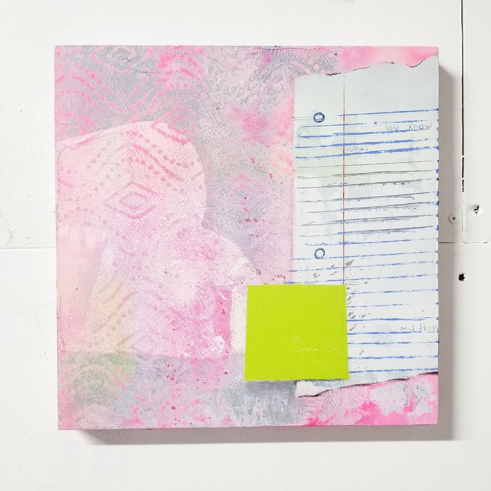 Jeremy Jirsa   - MD    SOLO Show:    Note to Self , March 2019