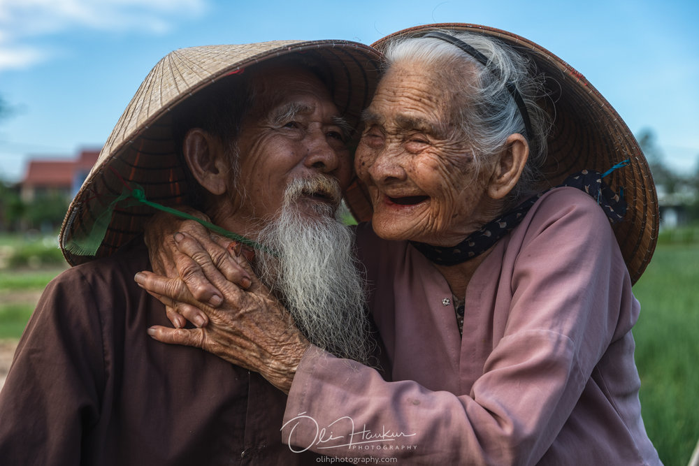 Beautiful couple in Hoi An