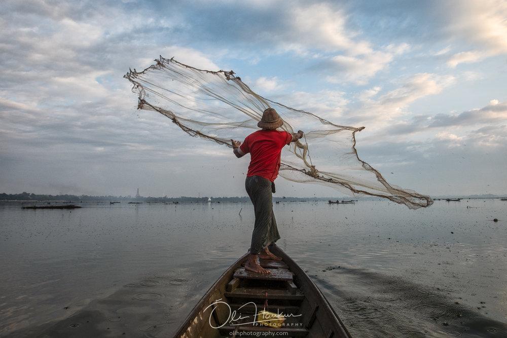 Fisherman in Mandalay