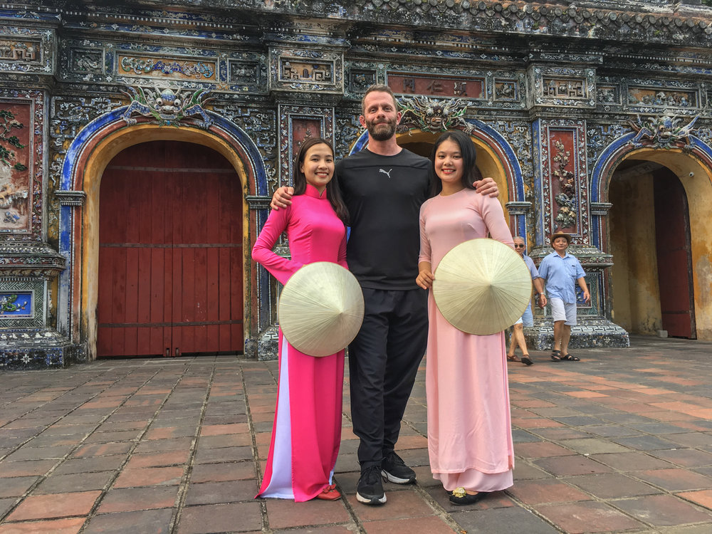 The Imperial City of Hue… and beautiful models :-)