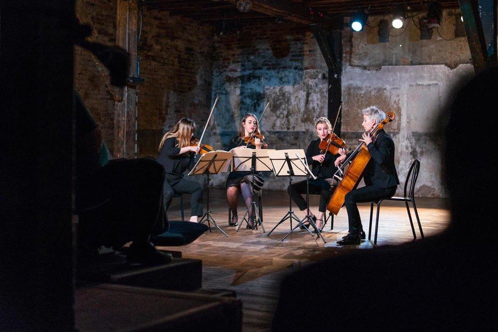 Quatuor Métamorphoses    Quatuor à Cordes