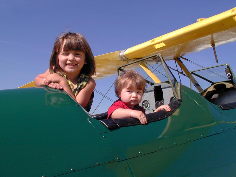 Sharing the love of aviation with the next generation is the key!