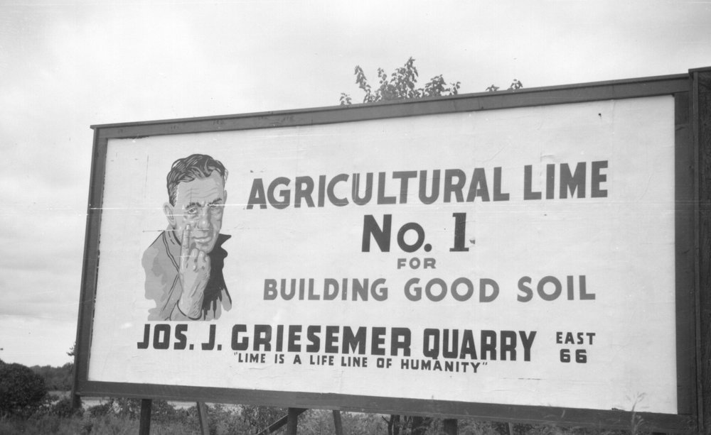 In 1946, the Joseph J. Griesemer Quarry opened northeast of Springfield, Missouri on Historic Route 66 and the Frisco Railroad.