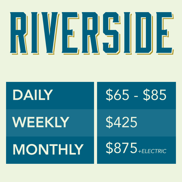 Arizona Oasis RV Park RV Rates - Riverside