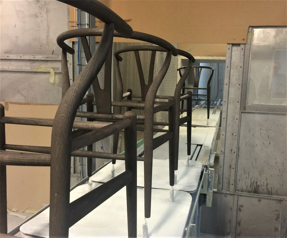 Behind the scenes with quality materials at the Carl Hansen & Son factory