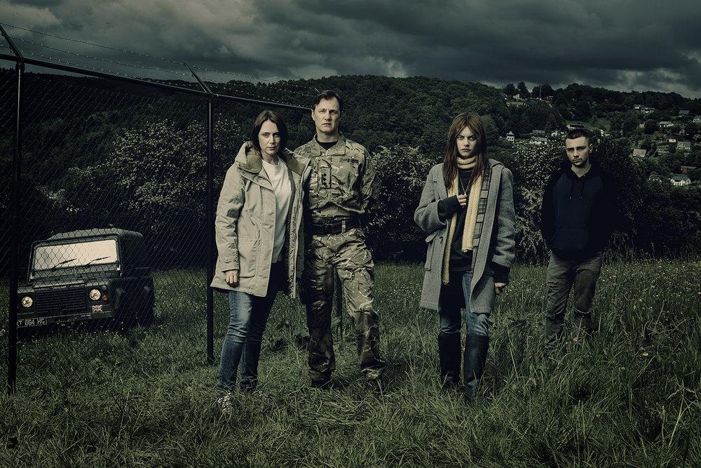 Keeley Hawes (as Gemma Webster), David Morrissey (as Sam Webster), Abigail Hardingham (as Alice Webster), Jake Davis (as Ma.jpg
