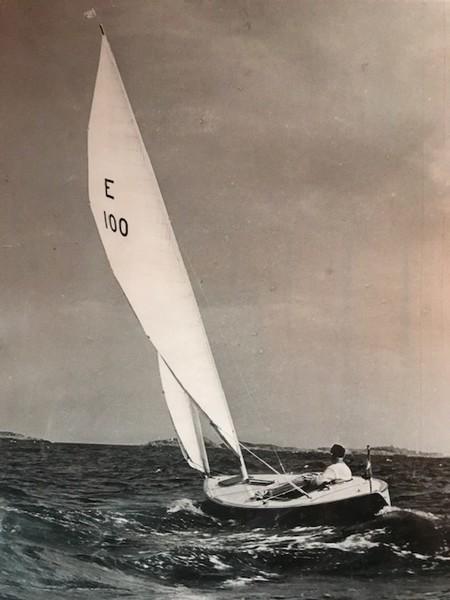 Ragnar i sin E-100