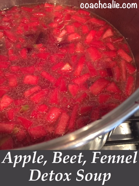 Apple, Beet, Fennel Detox Soup Recipes