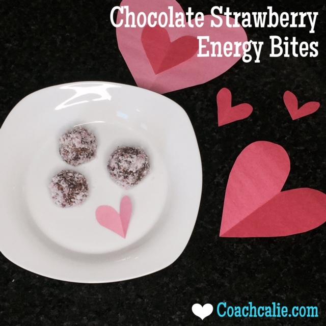 Chocolate Strawberry Energy Bites Recipe