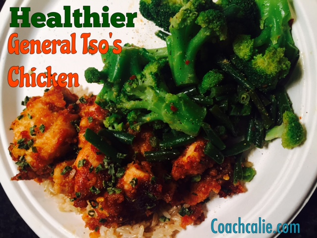 Healthier General Tso's Chicken Recipe