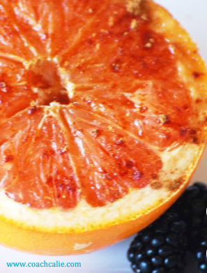 Baked Grapefruit (with Honey and Cinnamon Or Honey and Mint)