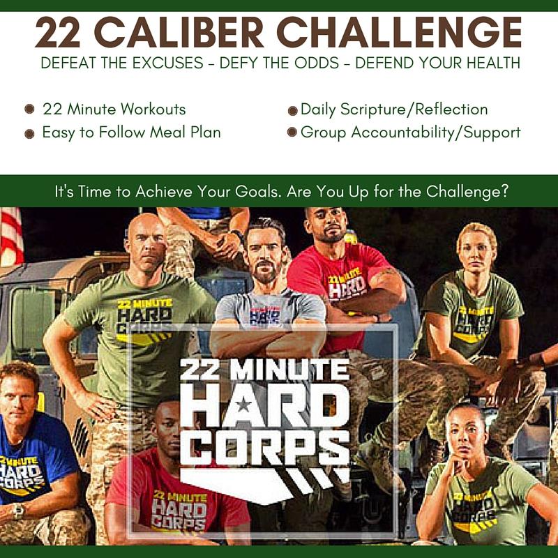 22 Caliber Challenge - 22 Minute Hard Corps