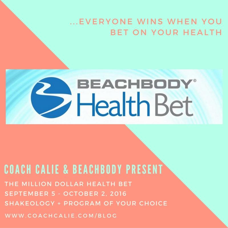 Beachbody Health Bet. Coach Calie & Beachbody present The Million Dollar Health Bet.
