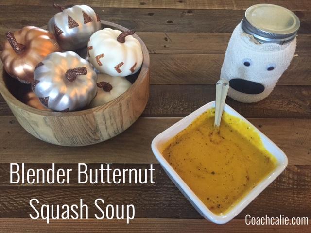 Blender Butternut Squash Soup Ingredients