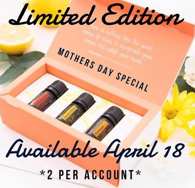 doTERRA Limited Edition Mother's Day Special