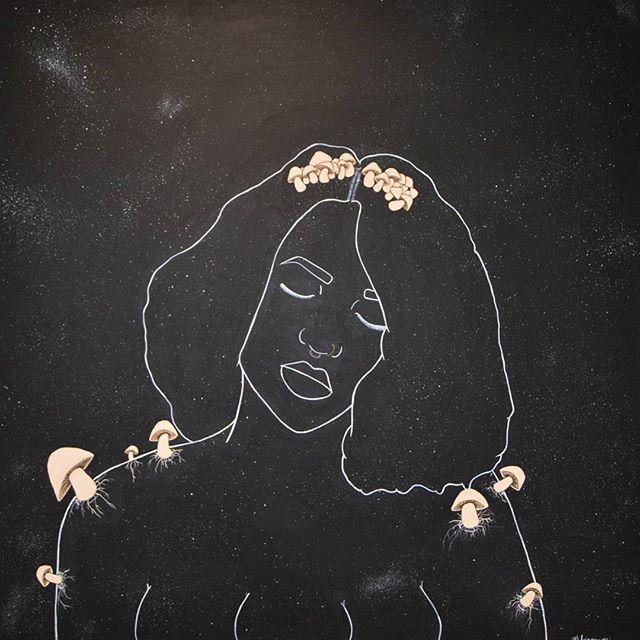 """""""Now I'm Running On Empty"""" 36x36  Acrylic on canvas #idiUm #illunicornati #lovewatts #art #artistoninstagram"""