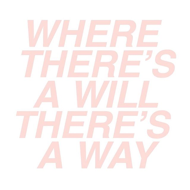 Find your why, shape your will and the rest is just logistics. If something is important enough to you, you WILL find a way to make it happen. Maybe that's with 15 minutes of committed focus and energy today. Just an idea. #giveit15