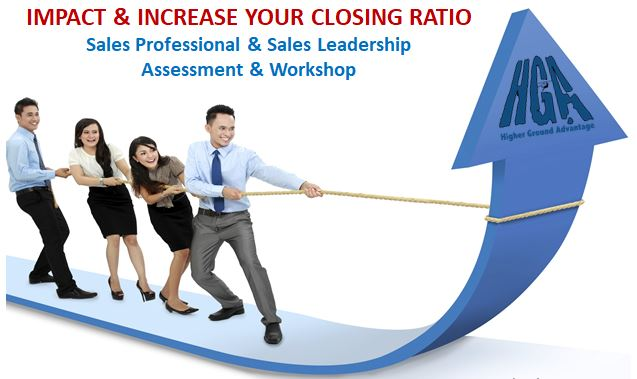 IMPACT & INCREASE SALES - APRIL SPECIAL Assessment & Workshop Bundle — $99(purchase by April 30th, attend any of our upcoming workshops or schedule a private one for your sales team)