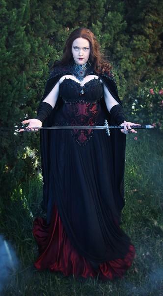 Dragon Wraith Gown
