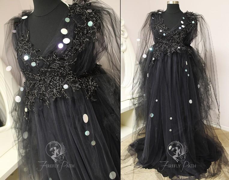 Cobweb Faerie Gown
