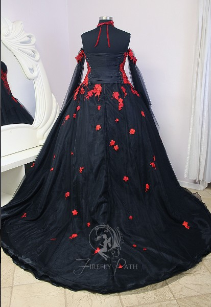 Vampire Bridal Gown