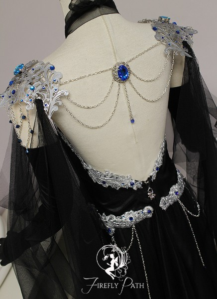 Shadow Sapphire Gown