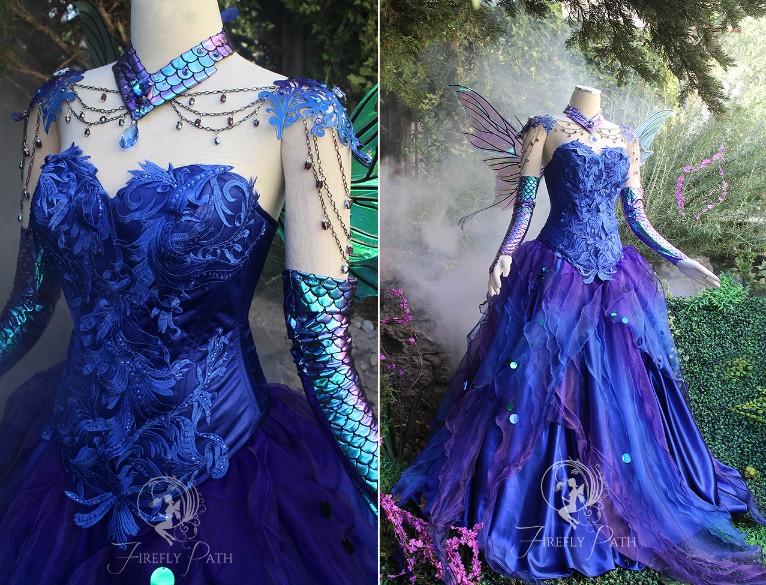 Azura, Faerie of the Sacred Grotto Gown