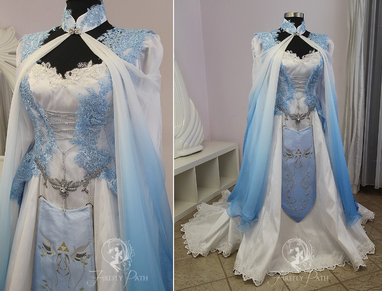 Blue Zelda Bridal Gown