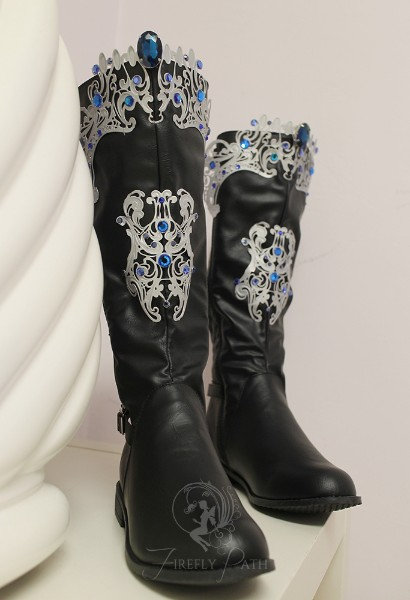 Princess Alyndra Elora Moonflower Boots