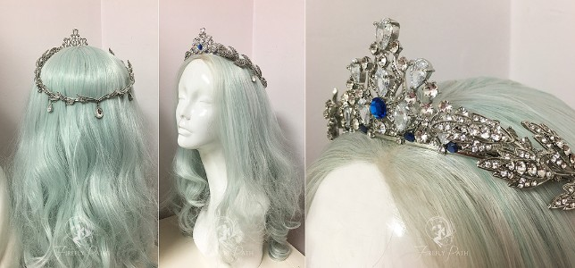Princess Alyndra Elora Moonflower Crown