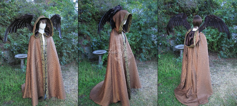 Autumn Angel Cape & Wings