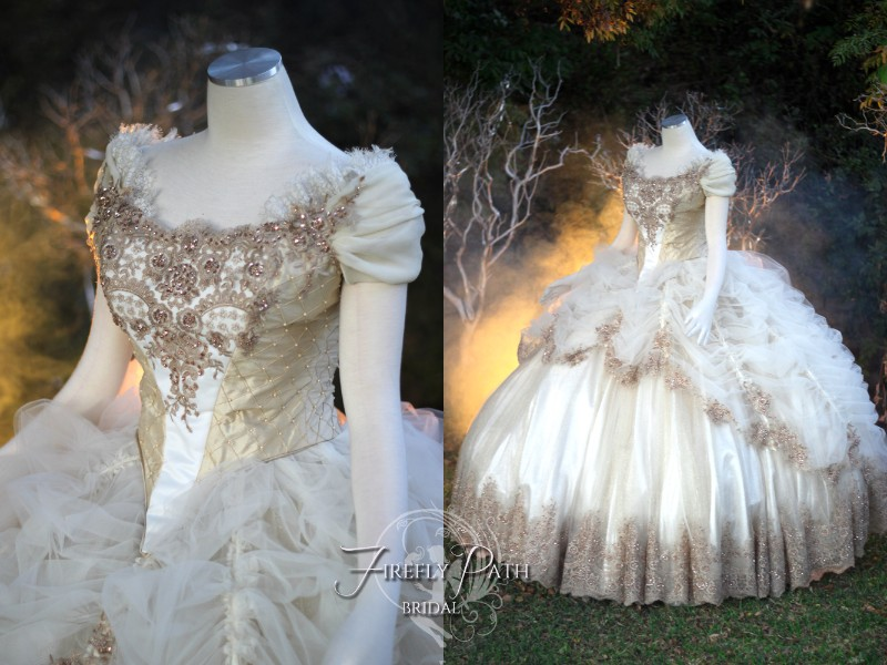 Beauty and the Beast Wedding Gown