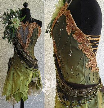 Absinthe Faerie Dress
