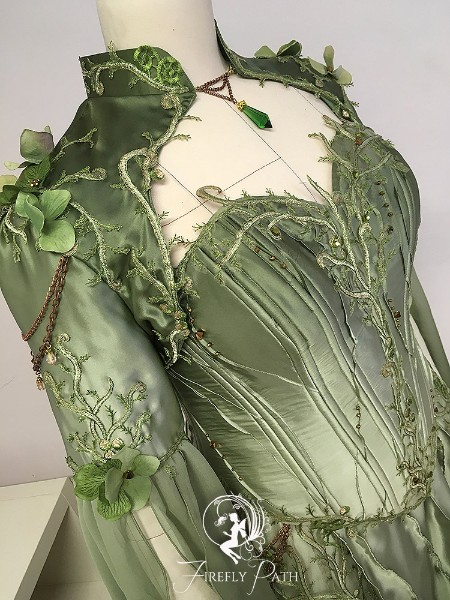 Nature Goddess Gown