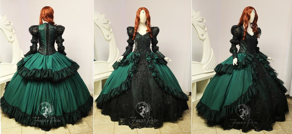 Emerald Princess Gown