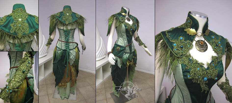 Dryad Archer Costume