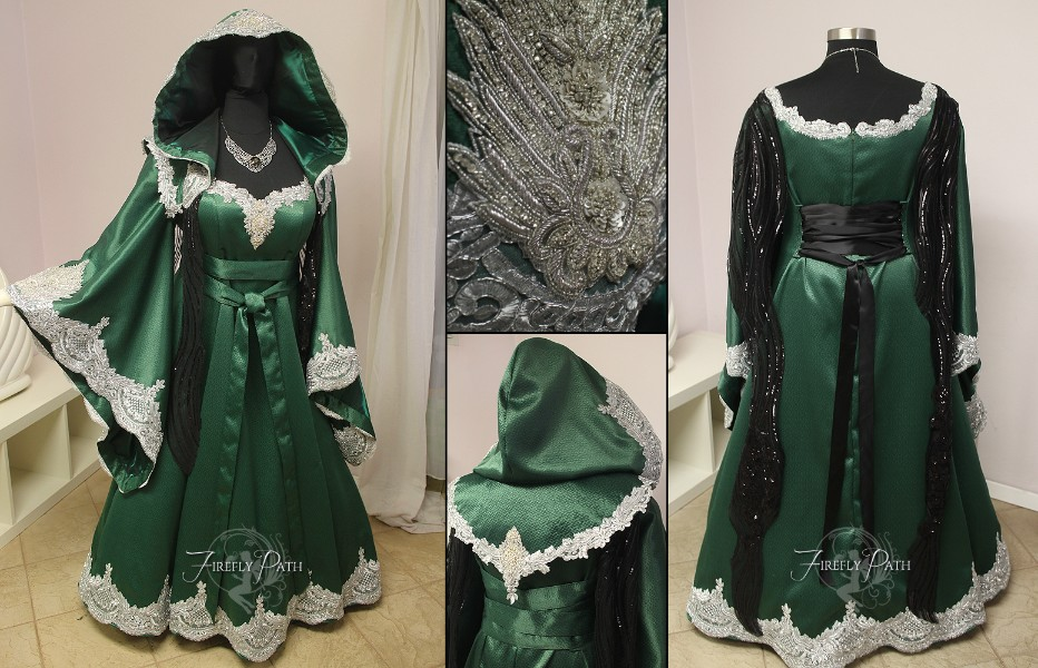 Royal Slytherin Gown
