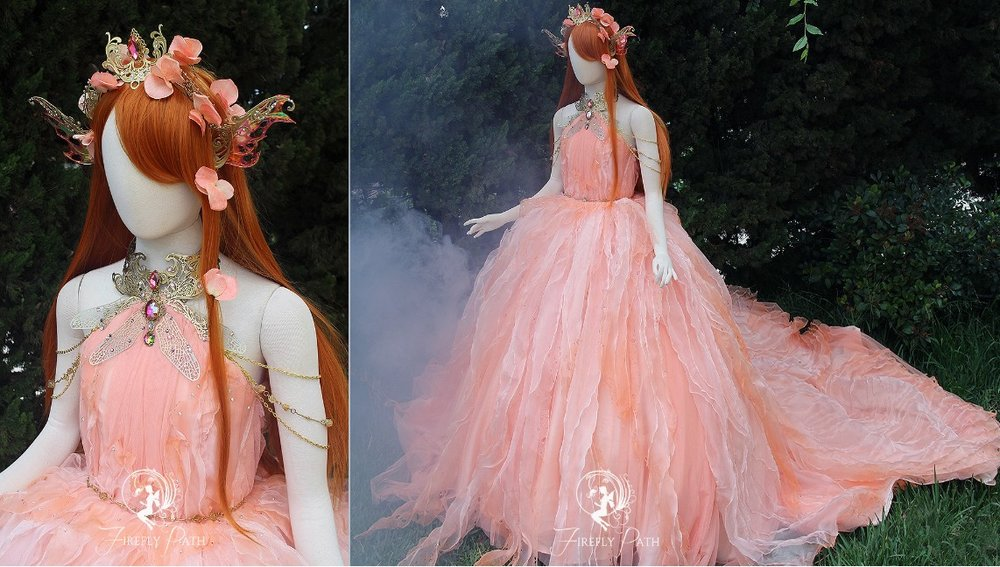 Koi Fish Princess Gown