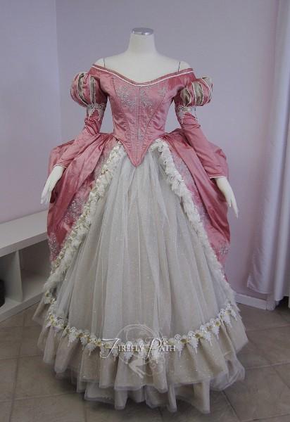 Pink Ariel Gown